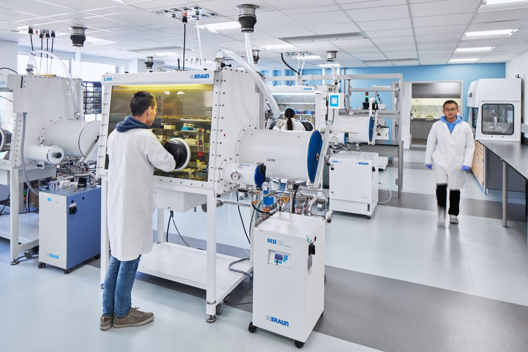 University of North Carolina at Chapel Hill Kenan Labs provides access to specialized shared equipment.