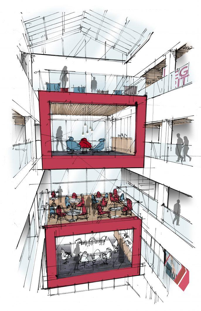 Vertical Atrium View