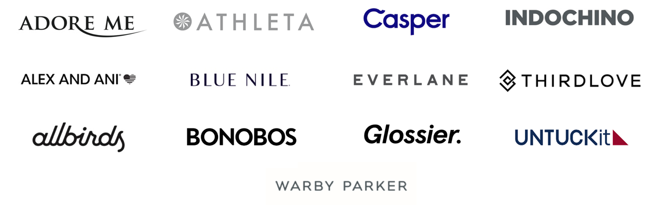 Brands included in our research