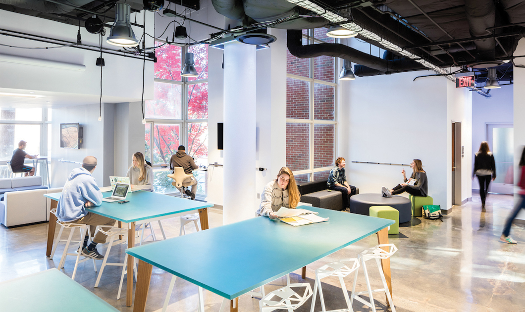 university of north carolina at chapel hill unc carmichael makerspace lounge space