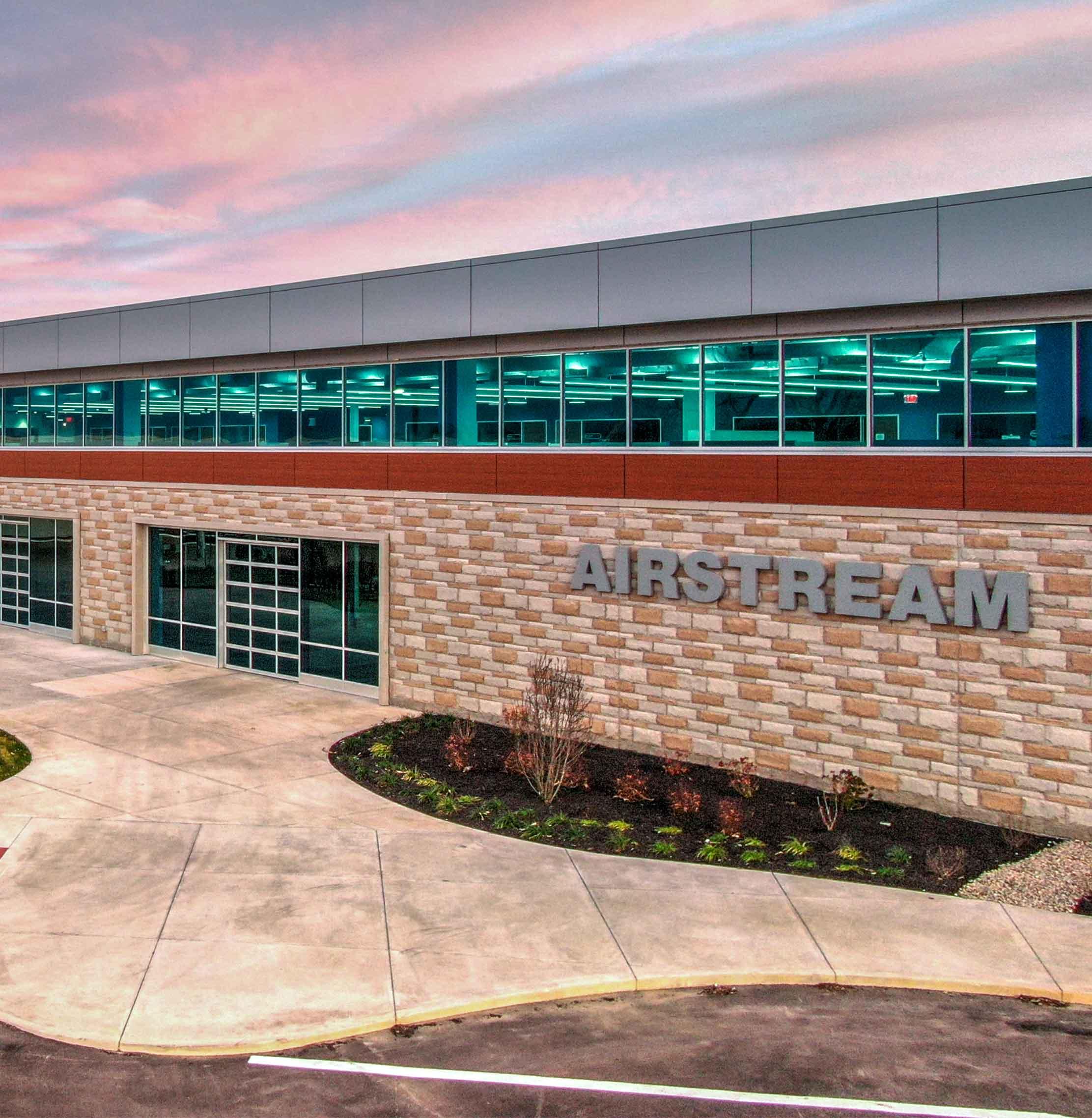Airstream building exterior