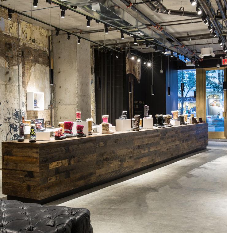 Sorel store in New York City