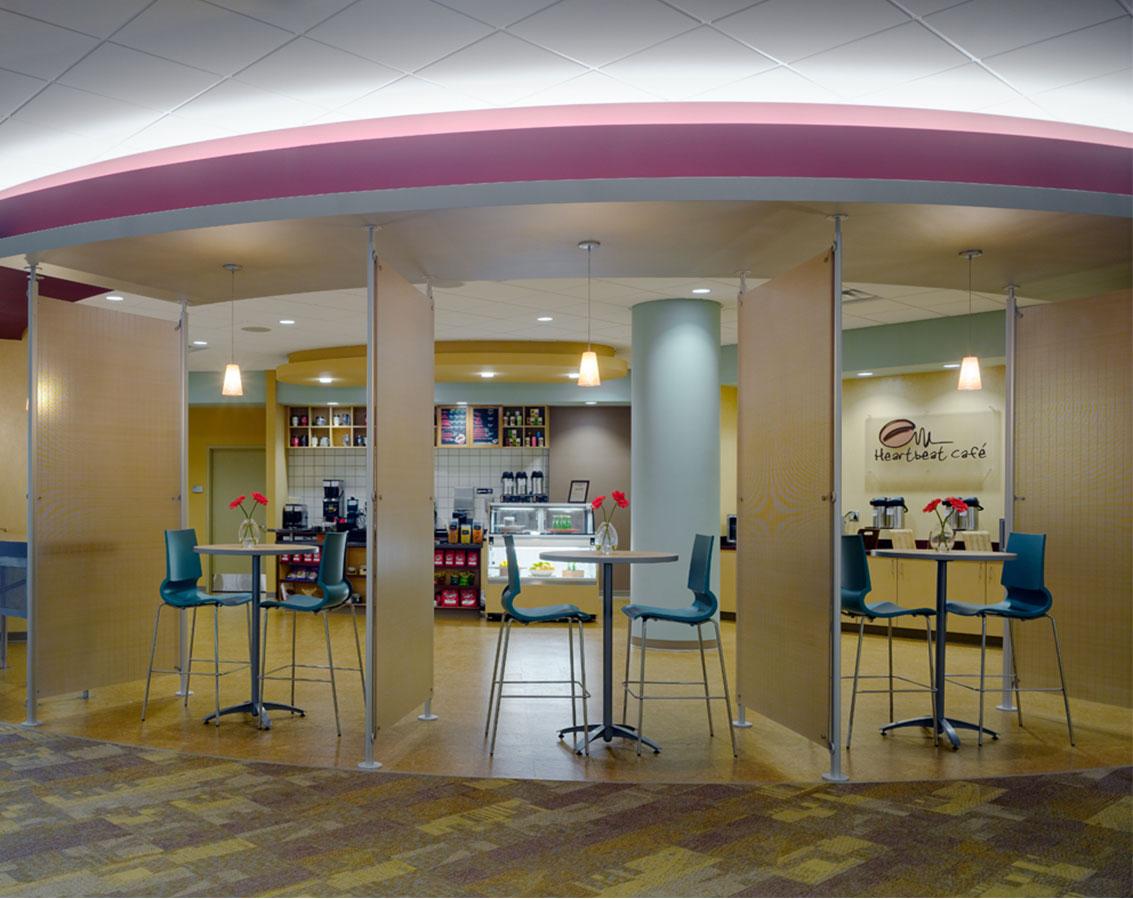"CareSource's cafe, ""Heartbeat Cafe"""