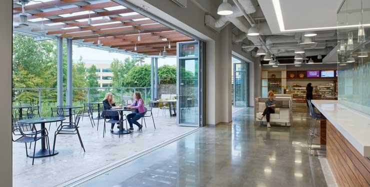 indoor outdoor office space