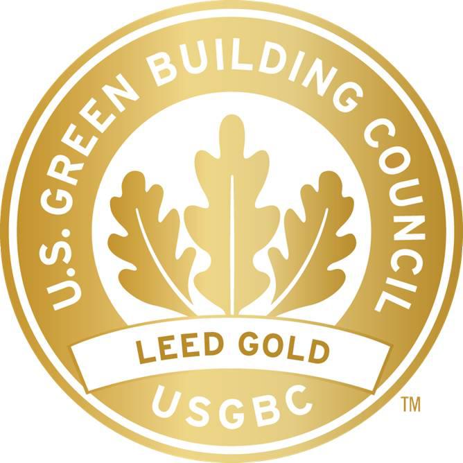 LEED Gold Certification Logo