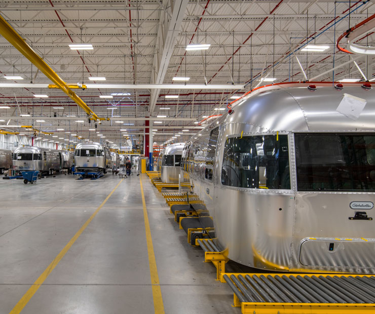 Airstream plant