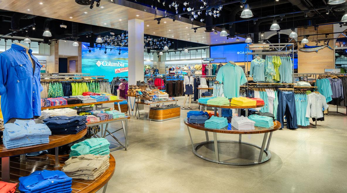 Columbia store in Disney Springs, FL