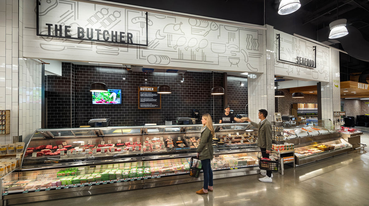Cambrdige Brothers Marketplace butcher counter