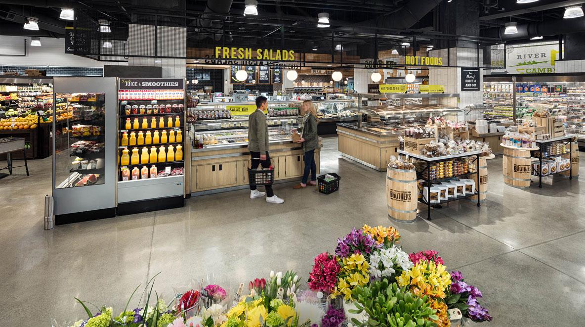 Cambridge Brothers Marketplace Salad station