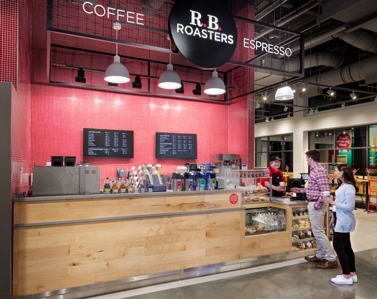 Coffee roasters at Roche Bros. Arsenal Yards