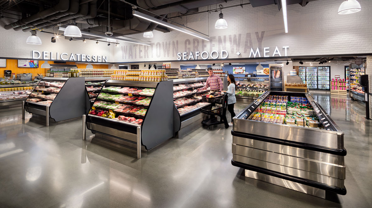 Roche Bros. Arsenal Yards location deli and seafood section