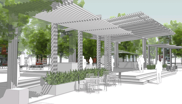Washington Park sketch
