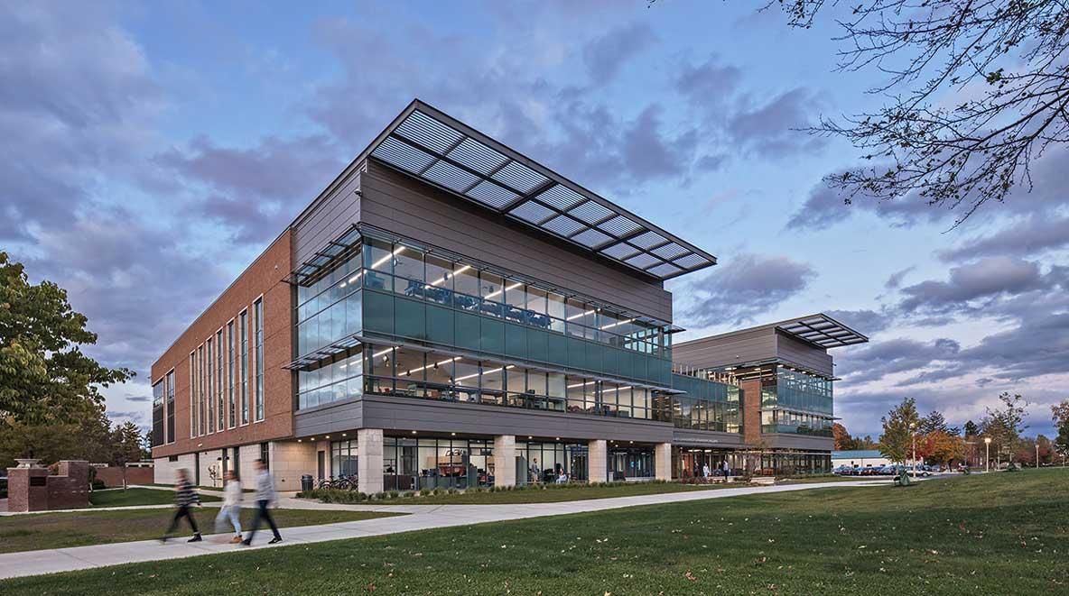 Exterior view of Ohio Northern University