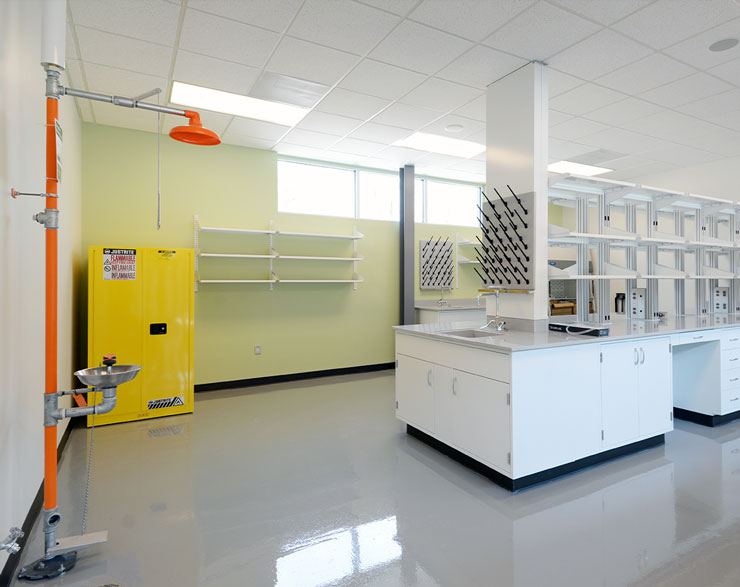 Bayer Bee lab space