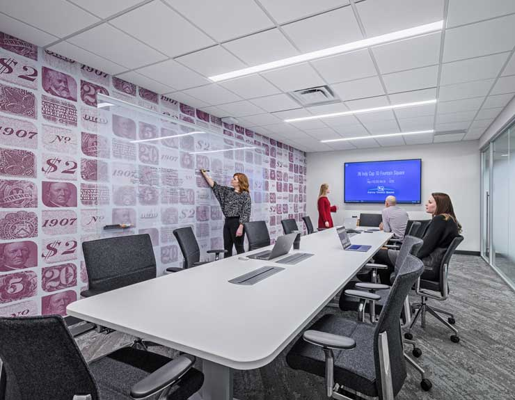 Fifth Third Bank conference room