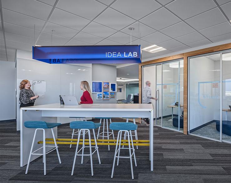 Idea lab at Fifth Third Bank