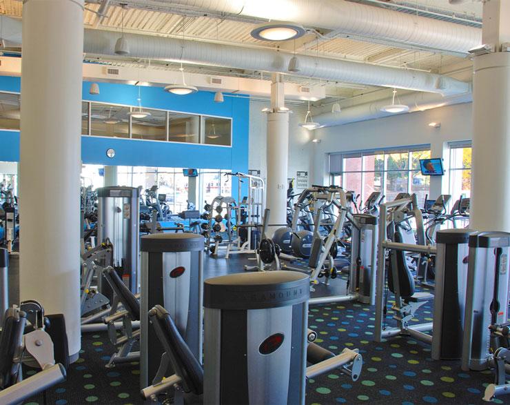 Gym at Gillette