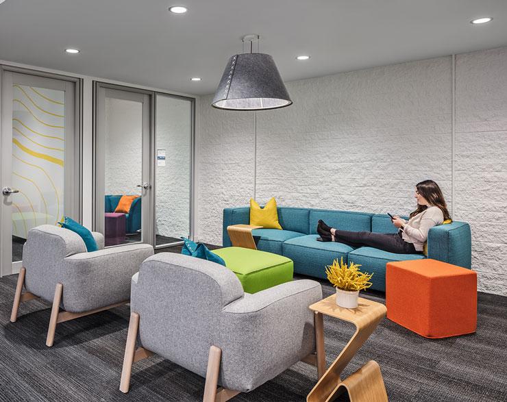 Casual seating at Quantum Health
