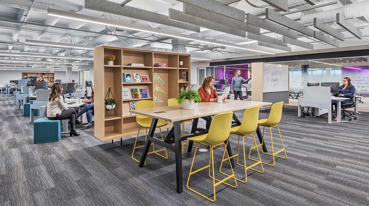 Quantum Health's open office
