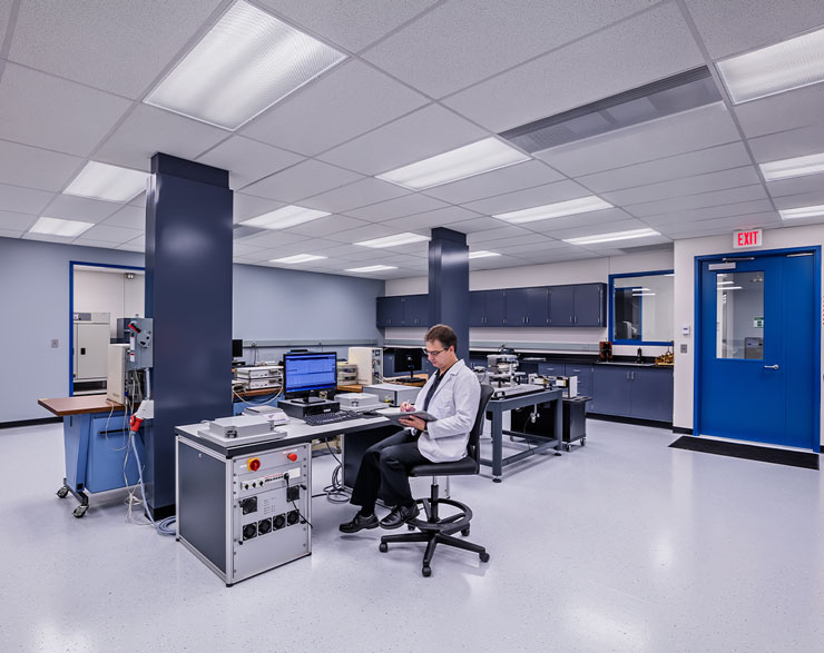Low bay lab space