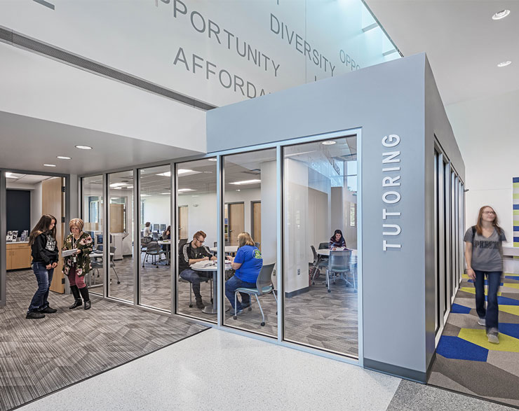 A look inside the tutoring center