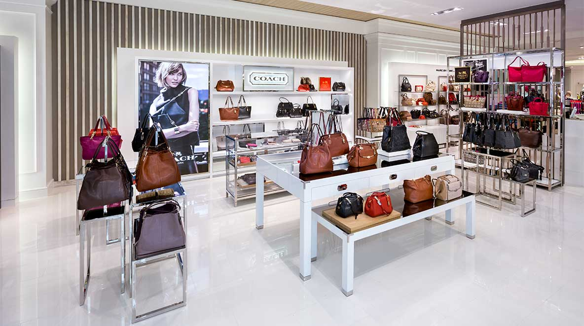 Coach section of the Lord & Taylor store