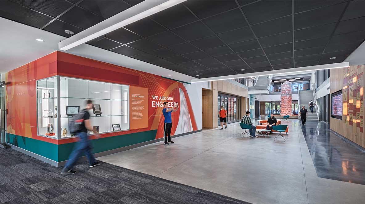 Inside of ONU building