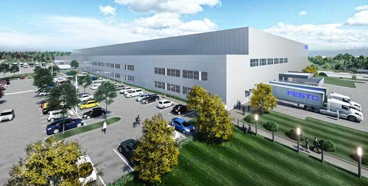 FESTO's expanded facility