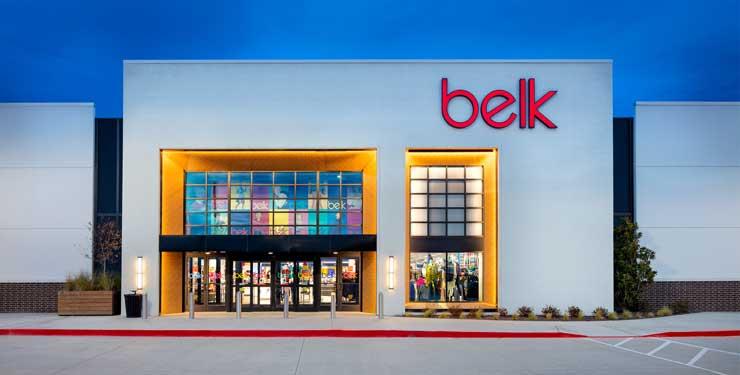 Belk Dallas Galleria exterior