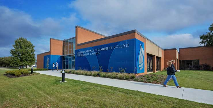 Eastern Gateway Community College Gator Center exterior